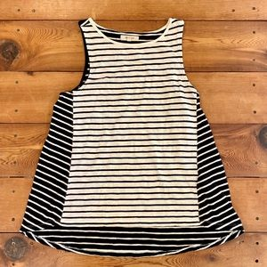 Madewell Striped Cotton Tank Top